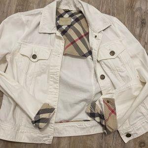 Burberry White Timberdale Jacket